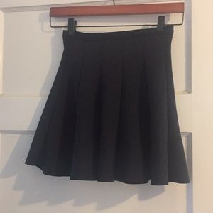 Abercrombie & Fitch Black Skater Skirt